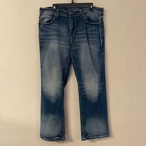 Axe & Crown - ratchet distressed jeans